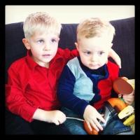 Our boys: Jon Agust og Viktor Ingi