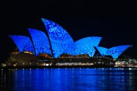 Sydney Opera House: Light It Up Blue